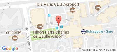 Roissypole bus station - Roissy CDG Paris on