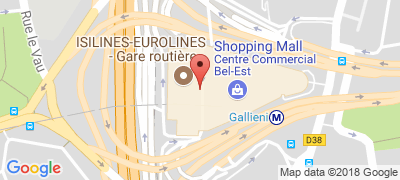 Gare routière internationale de Paris - Gallieni, 28, avenue du Général-de-Gaulle, 93170 BAGNOLET