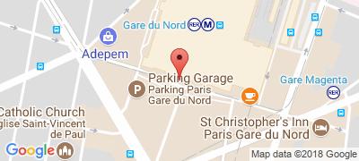Gard Du Nord Paris Map.Gare Du Nord Paris Train Station Rer And Subway